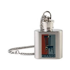 Eastwood And The Chair 2012 Electio Flask Necklace