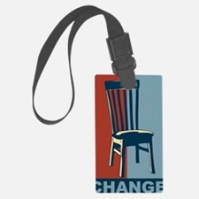Eastwood And The Chair 2012 Elec Luggage Tag