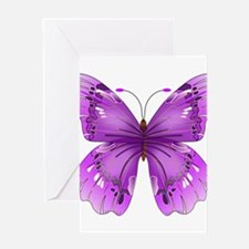 Awareness Butterfly Greeting Cards
