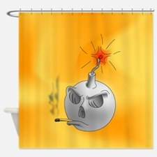 Stop Smoking and bomb Shower Curtain