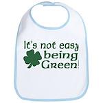 It's not easy being Green Bib
