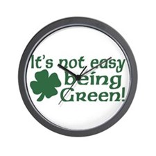 It's not easy being Green Wall Clock