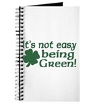 It's not easy being Green Journal