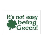 It's not easy being Green Mini Poster Print