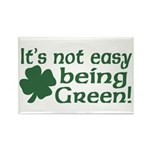 It's not easy being Green Rectangle Magnet
