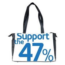 I Support the 47% Diaper Bag