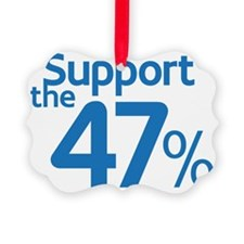 I Support the 47% Ornament