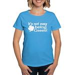 It's not easy being Green Women's Dark T-Shirt
