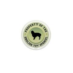 Spaniel Property Mini Button