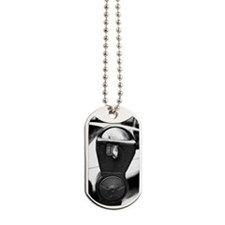 A parking meter Dog Tags