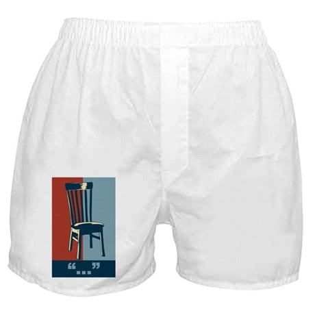 Eastwood And The Chair 2012 Election Boxer Shorts