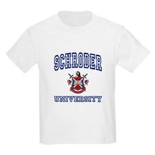 SCHRODER University Kids T-Shirt