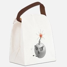 Stop Smoking and bomb Canvas Lunch Bag