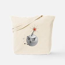 Stop Smoking and bomb Tote Bag