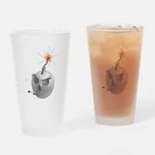 Stop Smoking and bomb Drinking Glass