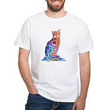 Whimsical Elegant Cat Shirt