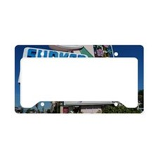 001 Sunken Gardens Roadside M License Plate Holder
