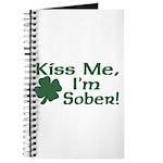 Kiss Me I'm Sober Journal