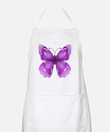 Awareness Butterfly Apron