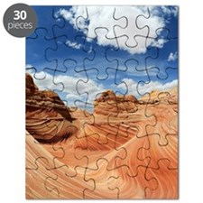 Sandstone formations of North Coyote Buttes Puzzle