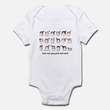 Greyhound Colors Infant Bodysuit