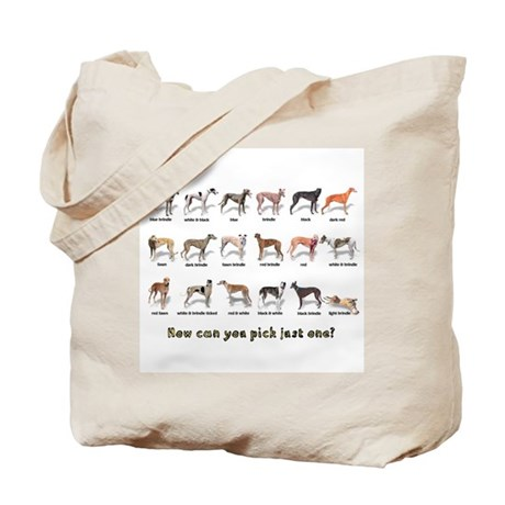 Greyhound Colors Tote Bag