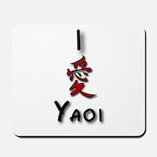 I love Yaoi  Mousepad