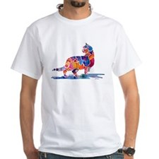Whimzical Cinnamon Cat Shirt