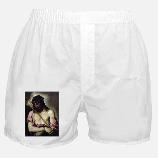 Ecce Homo - Titian - 1558 Boxer Shorts
