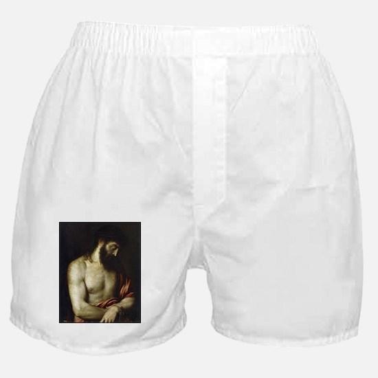 Ecce Homo - Titian - 1547 Boxer Shorts
