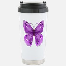 Awareness Butterfly Travel Mug