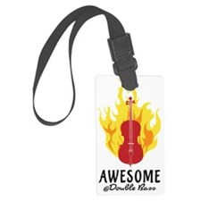 Awesome-at-Double-Bass-01-a Luggage Tag