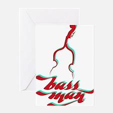 BassMan-03-a Greeting Card