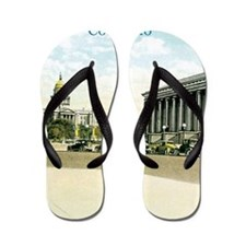 Vintage Colorado State Capitol Flip Flops