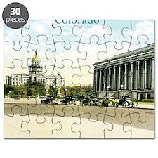 Vintage Colorado State Capitol Puzzle