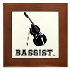 Bassist-01-a Framed Tile