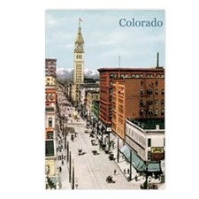 Vintage Colorado Street S Postcards (Package of 8)