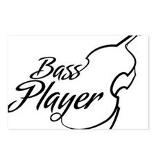 Bass-Player-01-a Postcards (Package of 8)