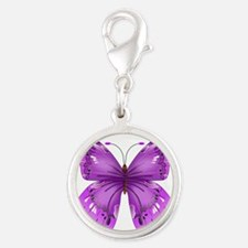 Awareness Butterfly Charms