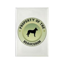 Beauceron Property Rectangle Magnet (10 pack)