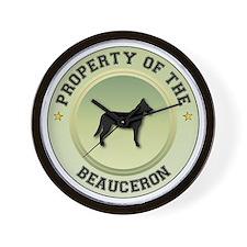 Beauceron Property Wall Clock