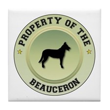Beauceron Property Tile Coaster