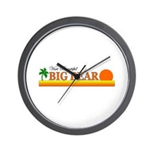 Funny Big bear lake california Wall Clock