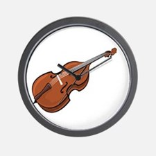 Ask-Me-About-the-Bass-01-b Wall Clock