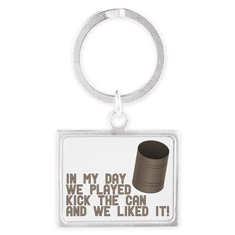 In My Day Landscape Keychain
