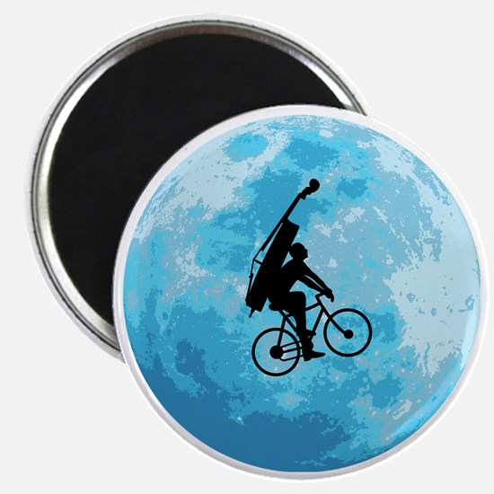 Cycling-in-Moonlight Magnet