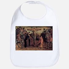 Crucifixion - Carlo Crivelli - c1468 Baby Bib