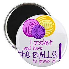 I crochet... Magnet