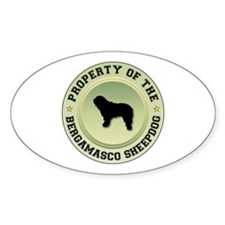 Bergamasco Property Oval Decal