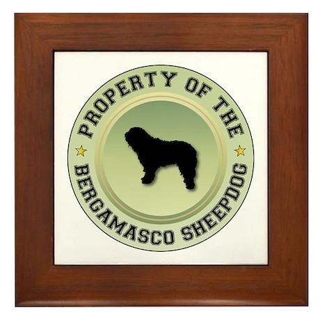 Bergamasco Property Framed Tile
